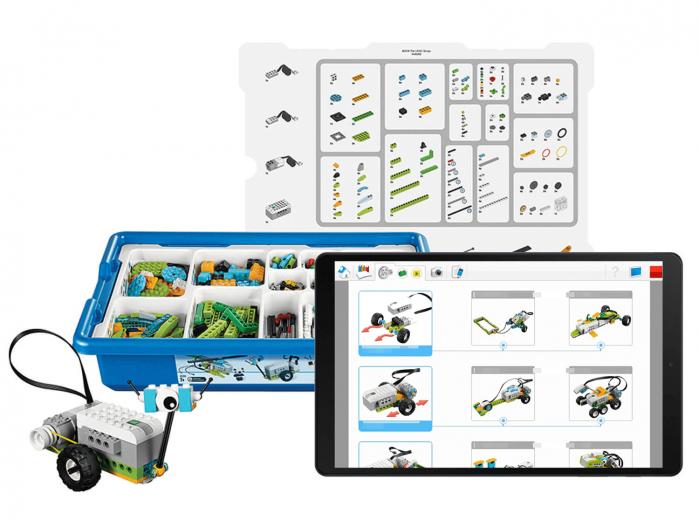 Pack LEGO Education WeDo 2.0 + Samsung Galaxy Tab A