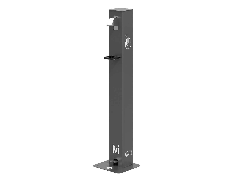 Dispensador de gel hidroalcohólico con pedal - 1L