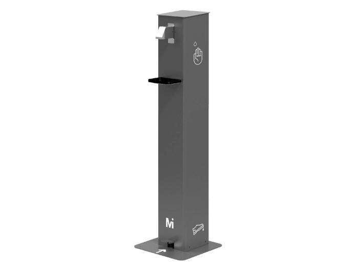 Dispensador de gel hidroalcohólico con pedal - 5L