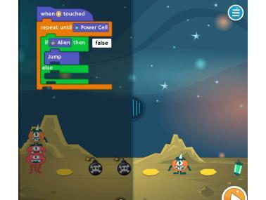 Extraescolars online programació amb videojocs