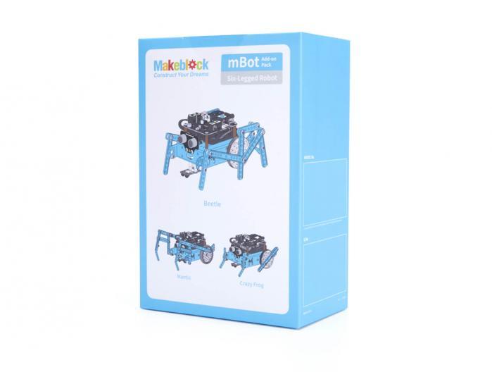 Pack-Six-legged Robot [Ampliació mBot]