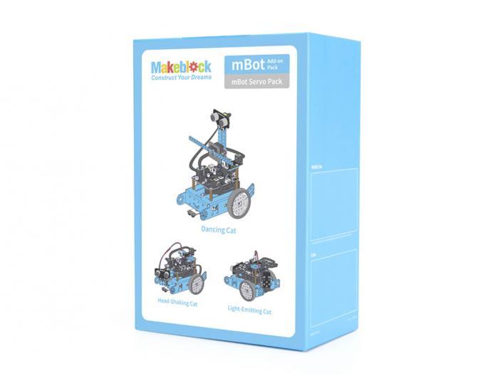 Pack-Servo Pack [Ampliació mBot]