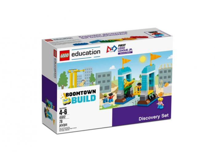 Set FLL Jr. Discovery Boomtown Build