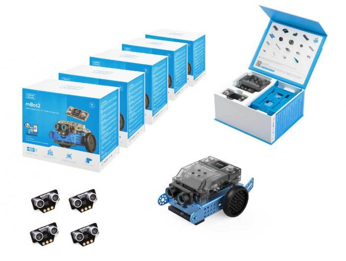 Pack Aula mBot 2 + sensores