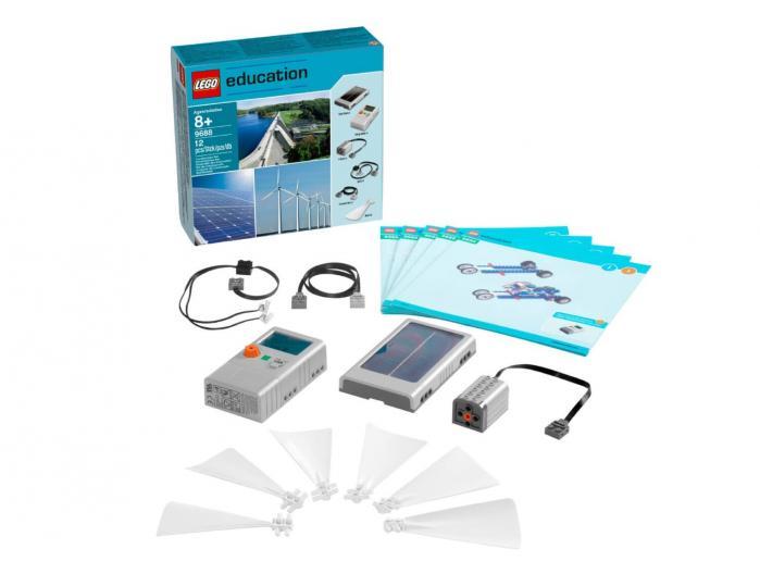 Set Ampliació Energies Renovables 9688 LEGO Education
