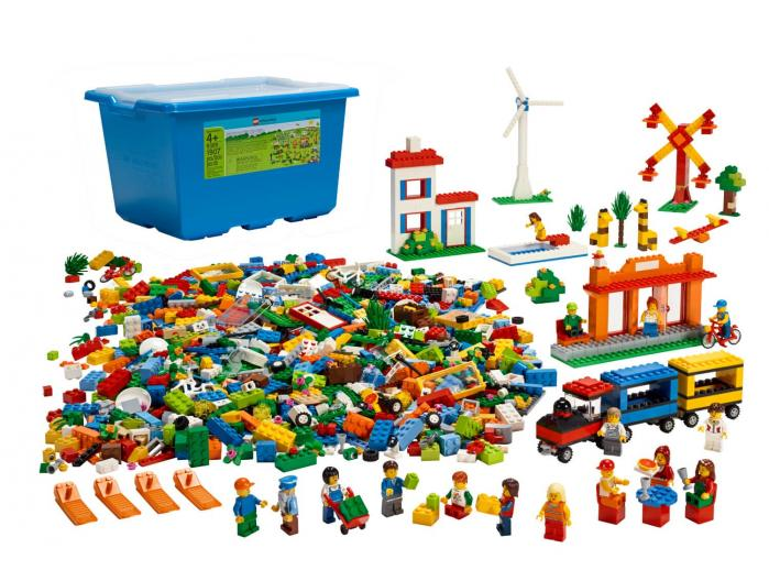 Set Primers Passos Comunitat 9389 LEGO Education