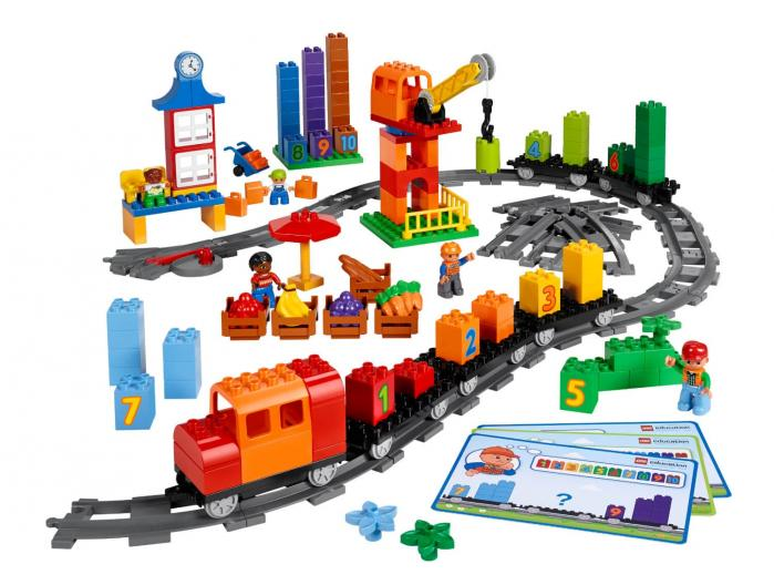 El Tren de las Matemáticas 45008 LEGO Education
