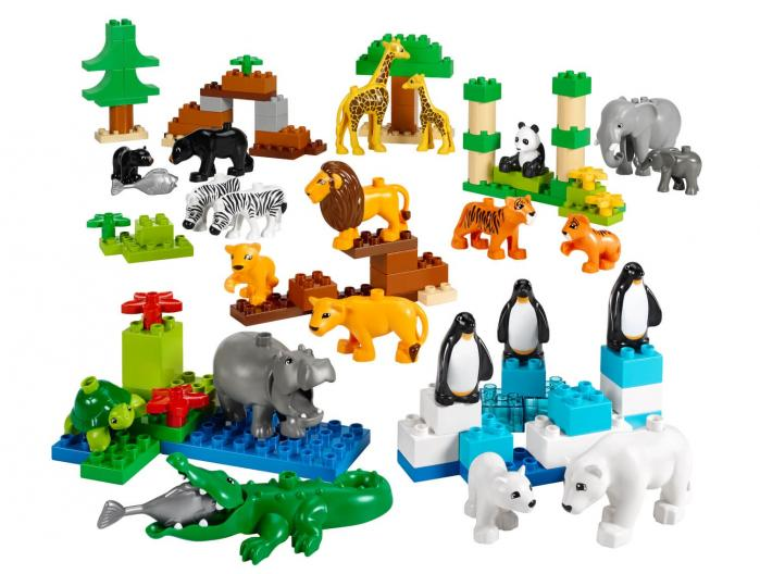 Set Animals Salvatges 45012 LEGO Education