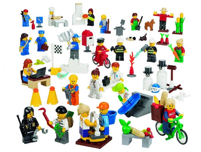 Set de Minifigures Urbanes 9348 LEGO Education