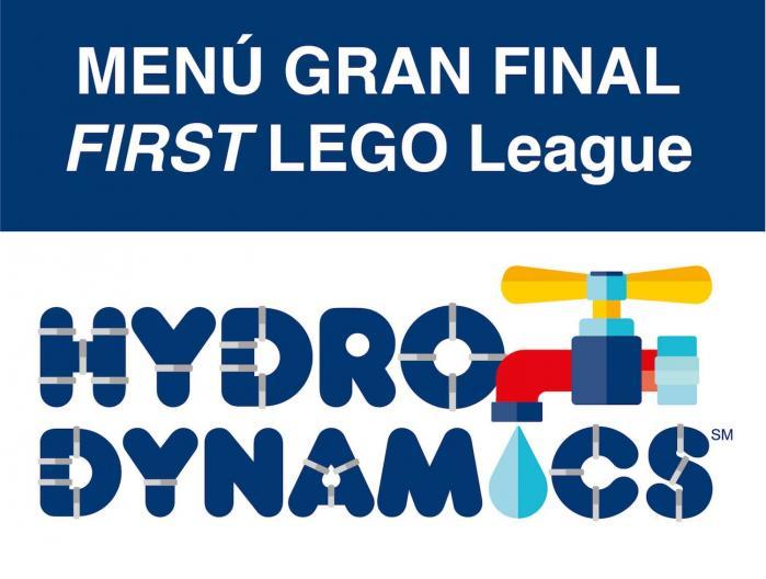 Menú Gran Final FLL España HYDRO DYNAMICS
