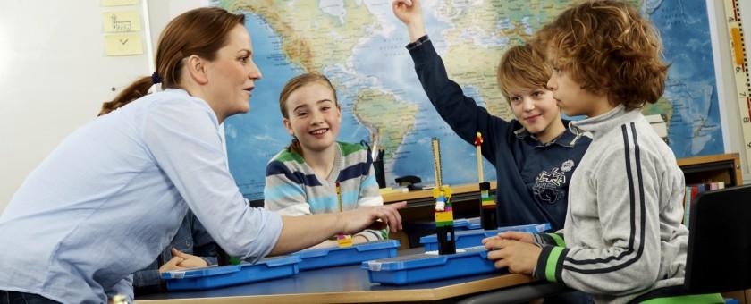 Actividades infantiles con LEGO Education ROBOTIX