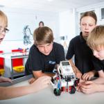 La robótica para jóvenes potencia el aprendizaje colaborativo