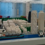 Una ciudad inteligente con robots LEGO MINDSTORMS