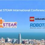 STEAM Barcelona : la participación de LEGO Education ROBOTIX