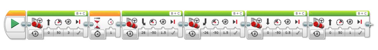 Aparcamiento autónomo LEGO MINDSTORMS Education EV3
