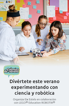 ¡Aprende robótica con Lego Education!