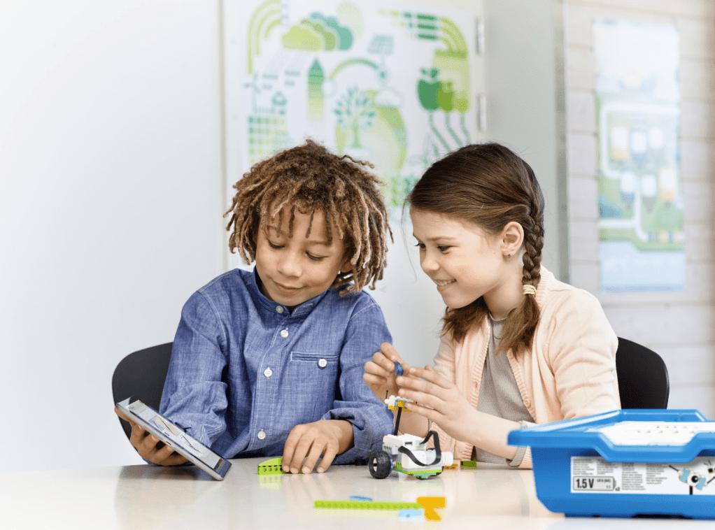 Pensamiento computacional con LEGO Education WeDo 2.0
