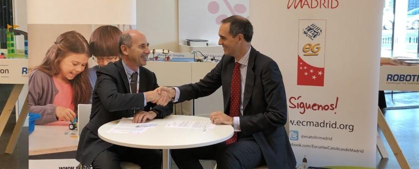 LEGO Education ROBOTIX y Escuelas Católicas de Madrid firman un acuerdo colaborativo