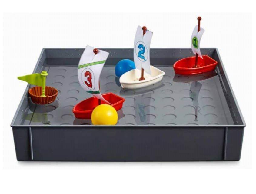 Actividad Barco Velero con Parque STEAM de LEGO Education ROBOTIX