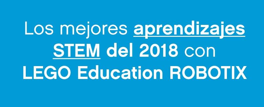 Aprendizajes STEM del 2018