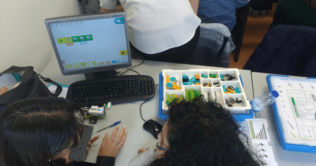 Profesorado con LEGO Education WeDo 2.0