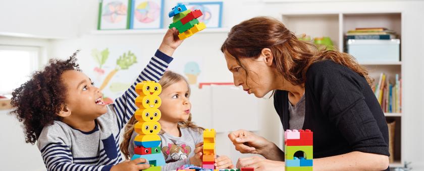 Actividad Construye Emociones - LEGO Education ROBOTIX