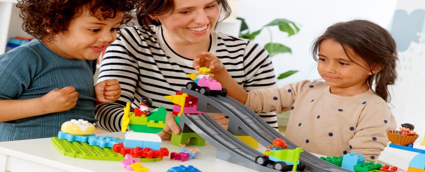 Educadores infantiles y aprendizaje STEM - LEGO Education ROBOTIX