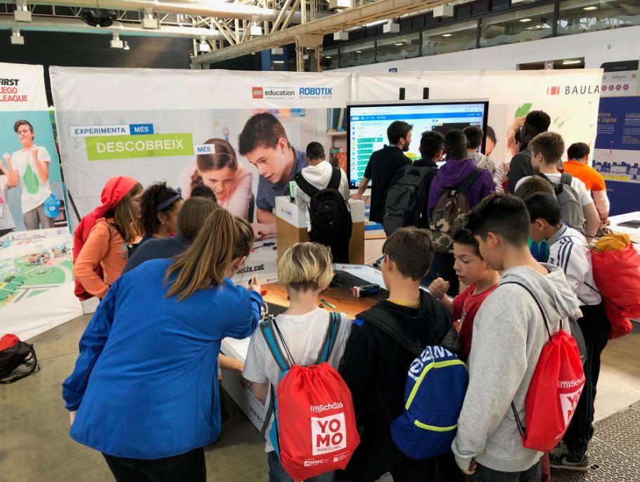 Actividad Space SET de LEGO Education ROBOTIX en YoMo 2019