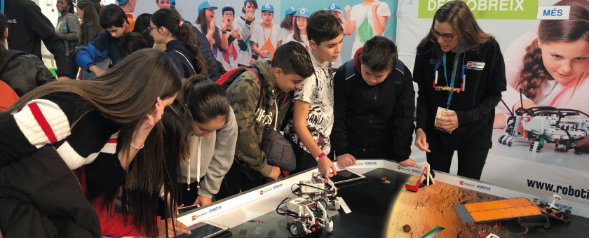 LEGO Education ROBOTIX en YoMo Barcelona 2019