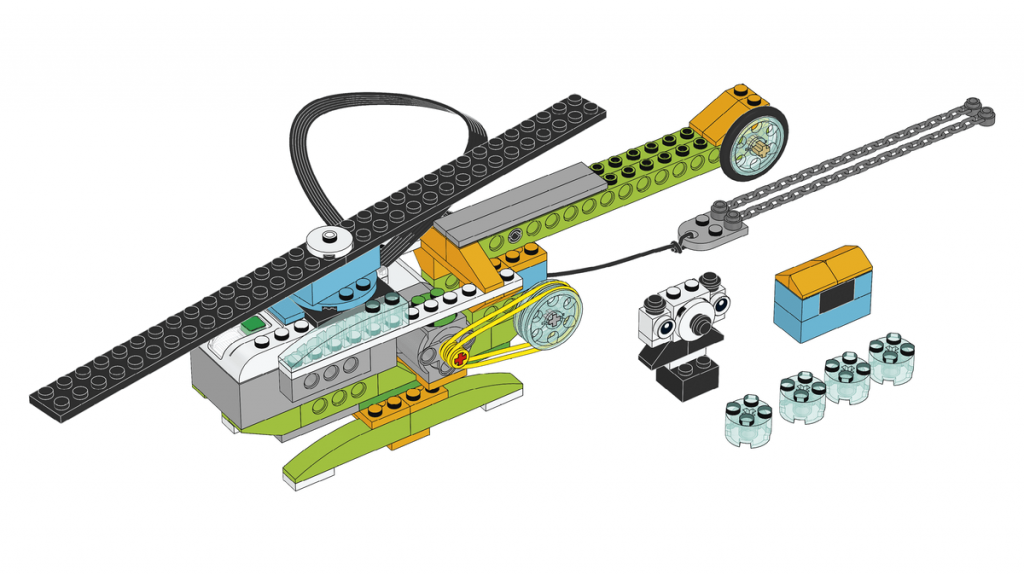 Actividad Rescate con helicóptero con LEGO Education WeDo 2.0