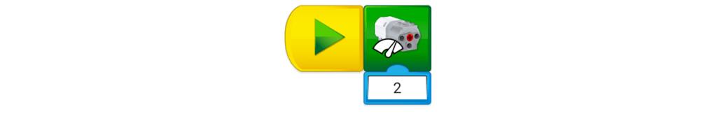 Programación Ventilador con LEGO Education WeDo 2.0