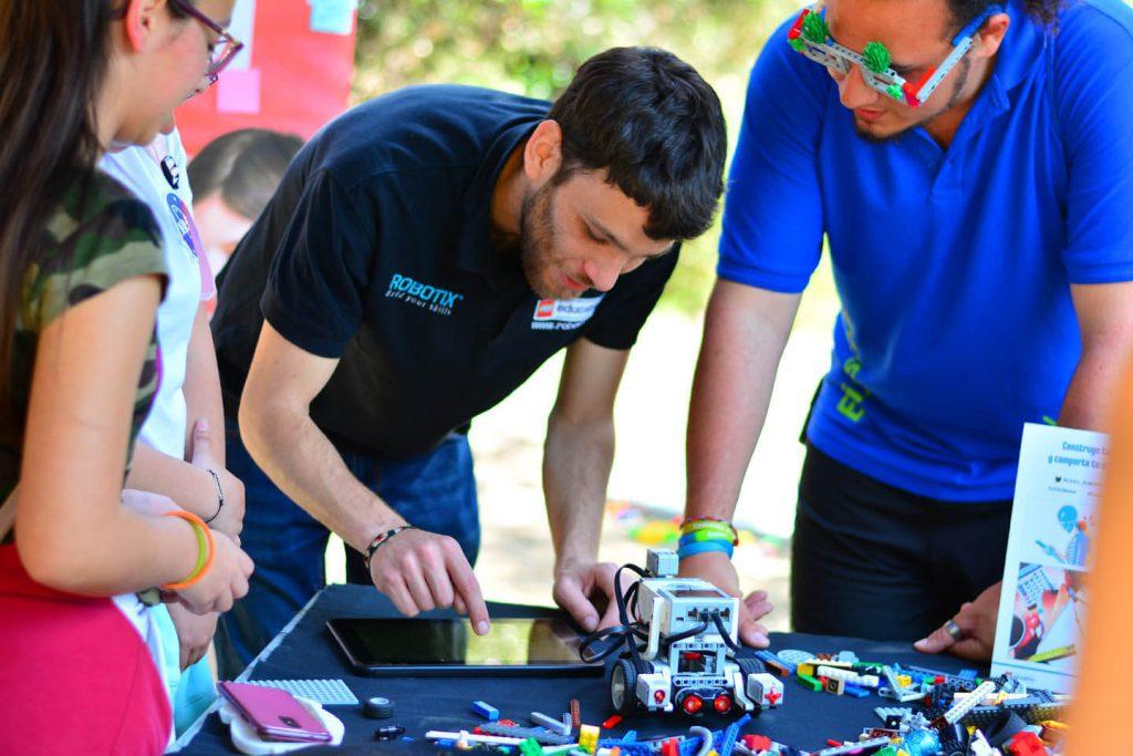 Entrevista David Vinyoles, facilitador de las extraescolares LEGO Education ROBOTIX