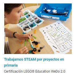 Certificación LEGO Education en WeDo 2.0