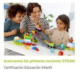 Certificación LEGO Education en Educación Infantil
