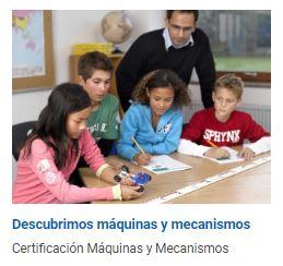 Certificación LEGO Education en Máquinas y Mecanismos