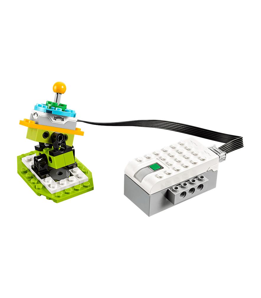 Actividad Envío de mensajes con LEGO Education WeDo 2.0
