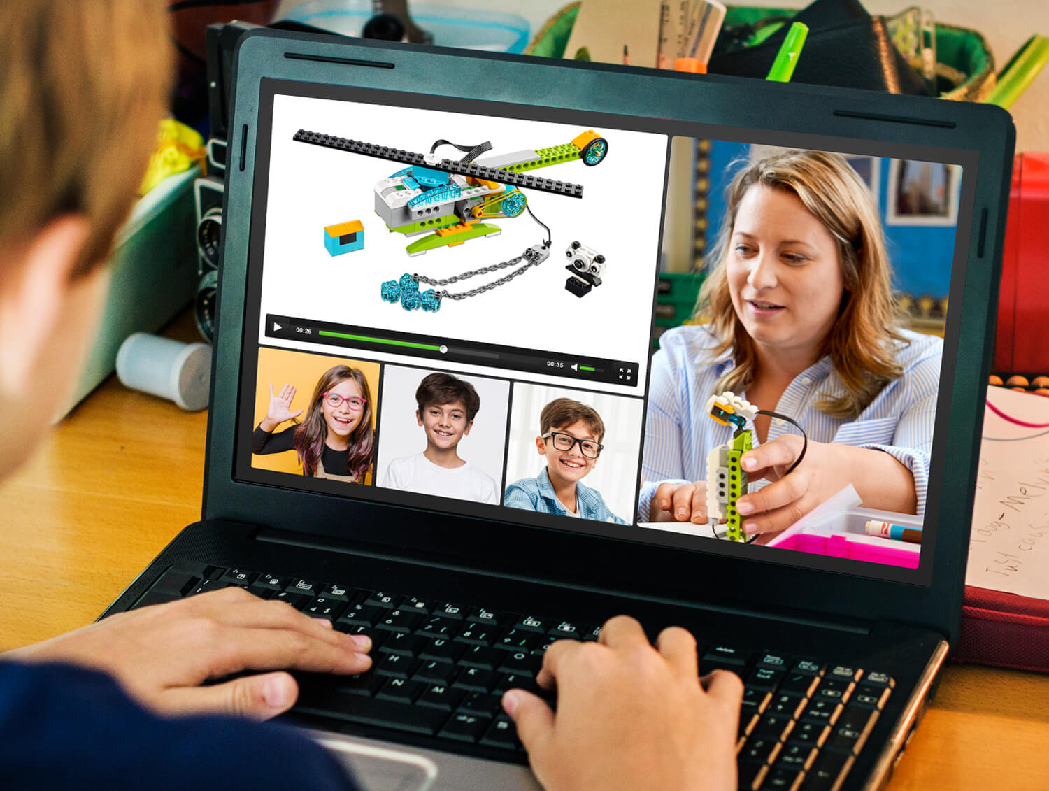 STEAM, Robótica Educativa y Programación Online