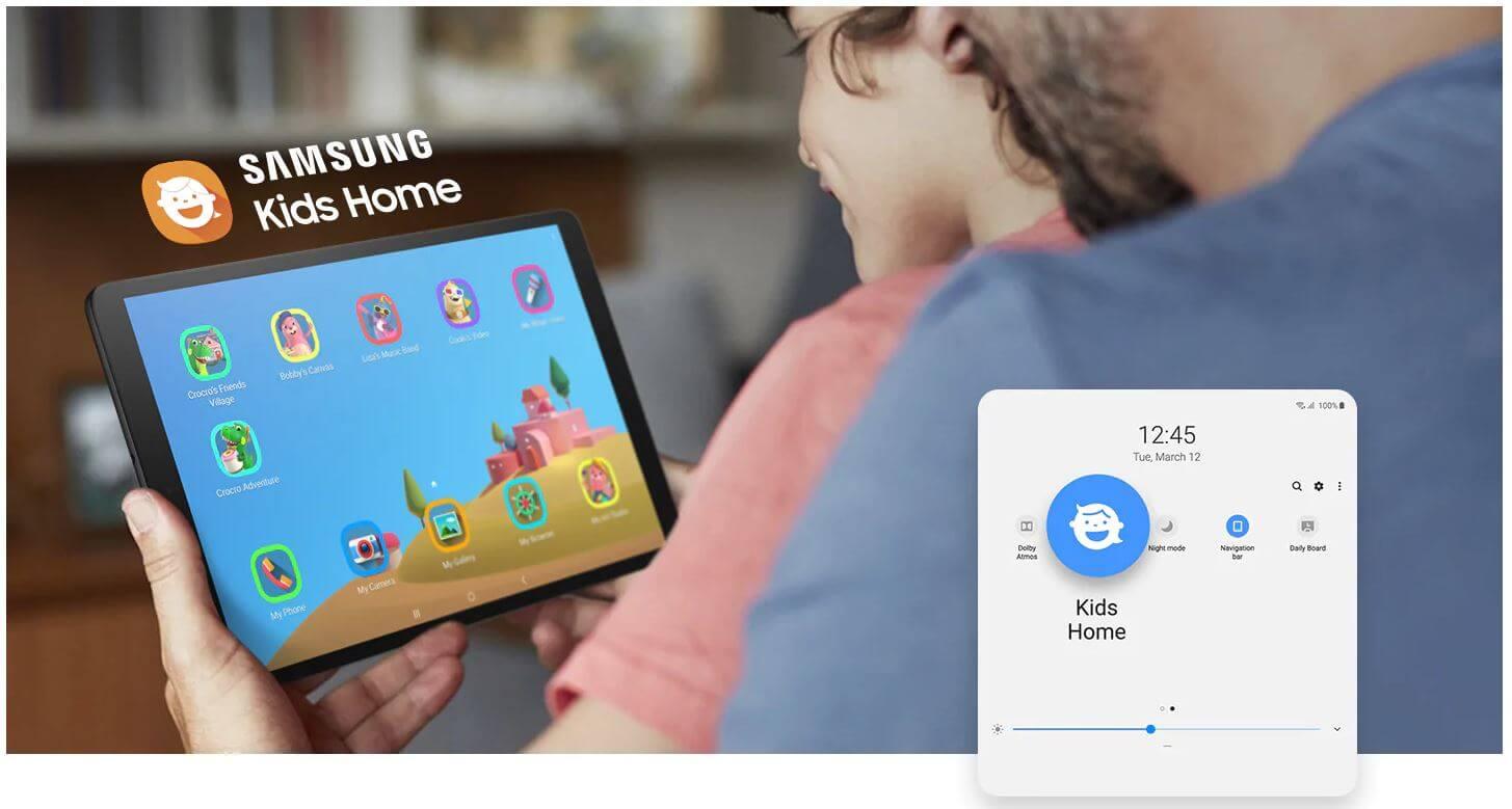 Modo Niños Samsung Galaxy Tab A