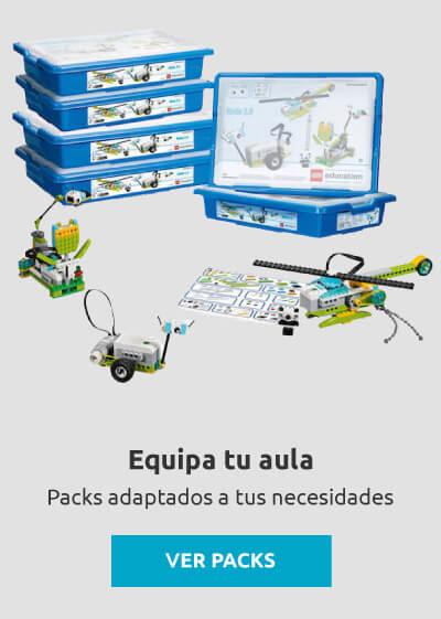 Packs Aula LEGO Education Menú